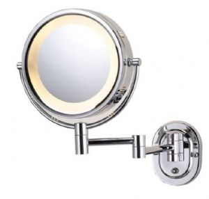 Wall Mounted Shaving Cosmetic Mirror Illuminated