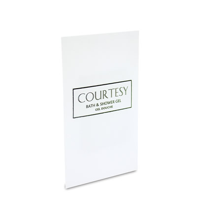 Courtesy Sachet Bath & Shower Gel 10ml