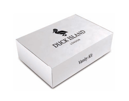 Duck Island Hotel Vanity Kits Boxed